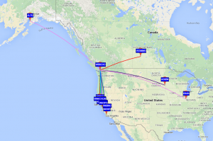 10mW WSPR on 20 meters